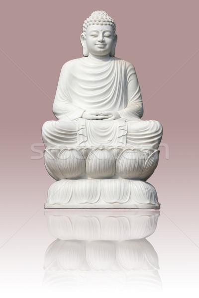Marble Buddha Statue Stock photo © pinkblue