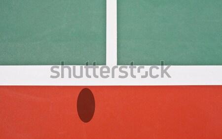 Pista de tenis halcón ojo vista campo pelota Foto stock © pinkblue