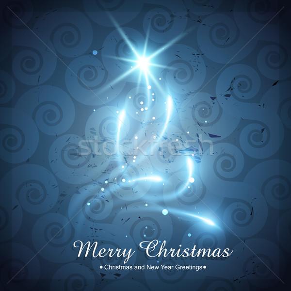 shiny creative christmas tree Stock photo © Pinnacleanimates