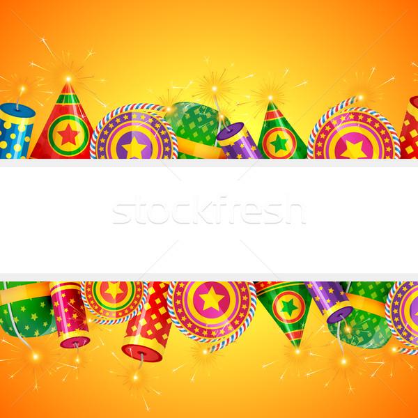 Diwali crackers Stock photo © Pinnacleanimates