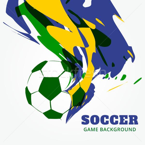 Abstract Football Background Vector Illustration C Pinnacle