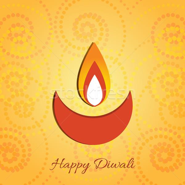 Diwali diya Stock photo © Pinnacleanimates