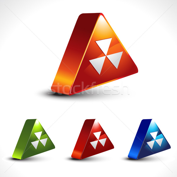 hazard icon Stock photo © Pinnacleanimates