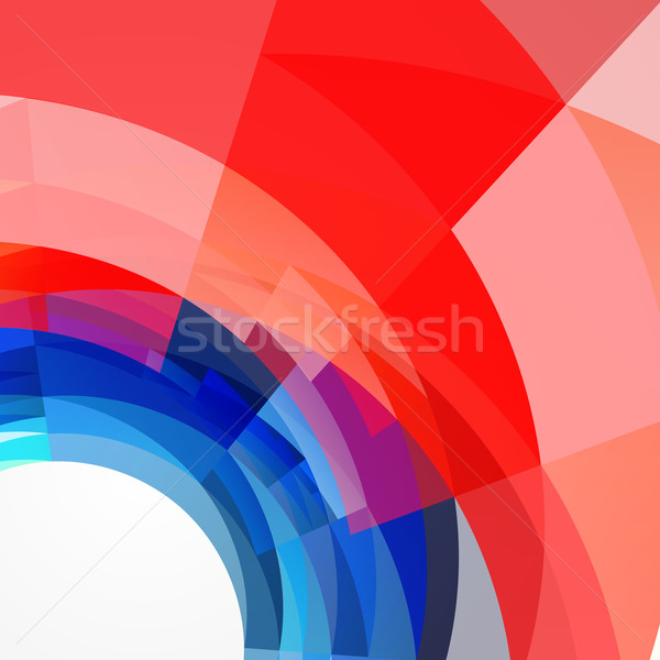 stylish 4th of july design Stock photo © Pinnacleanimates