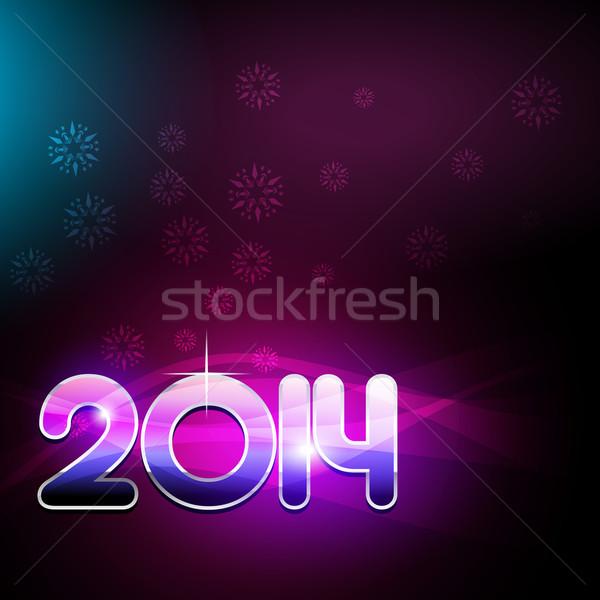 happy new year party theme design Stock photo © Pinnacleanimates