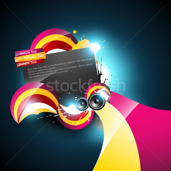 music background Stock photo © Pinnacleanimates