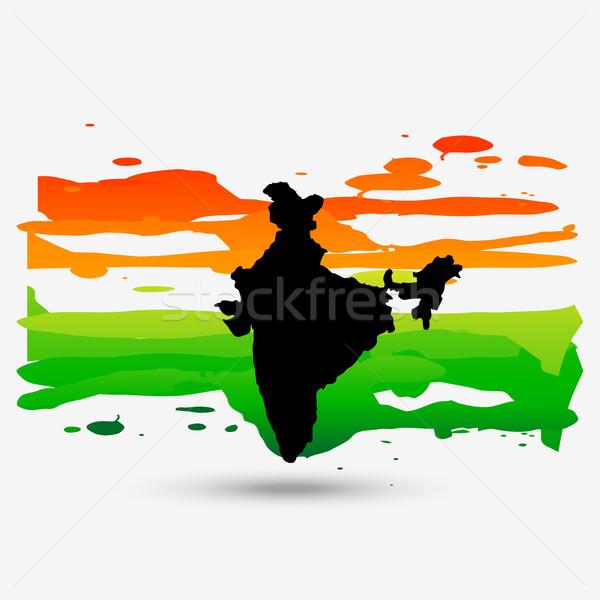 patriotic indian design Stock photo © Pinnacleanimates