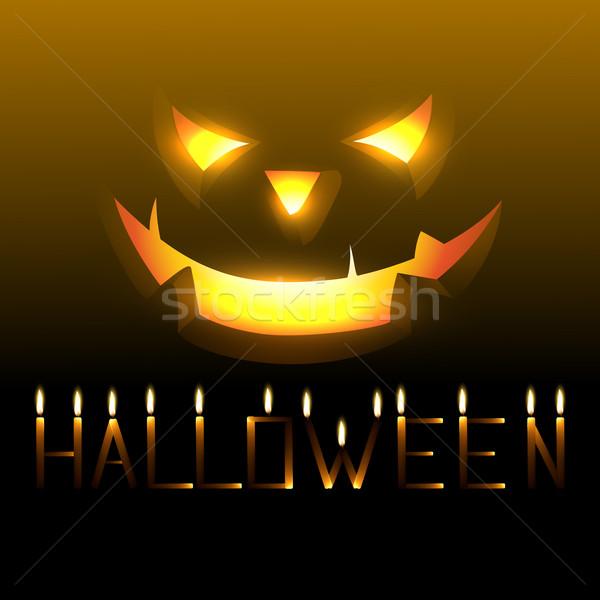 halloween vector Stock photo © Pinnacleanimates