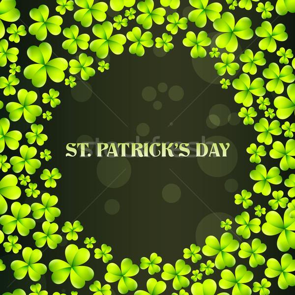 vector st patrick's day design Stock photo © Pinnacleanimates