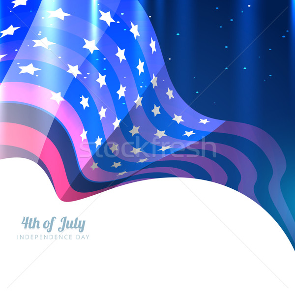 american 4th of july Stock photo © Pinnacleanimates