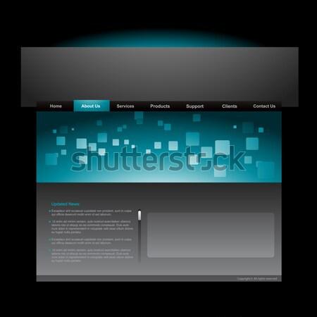 web banner Stock photo © Pinnacleanimates