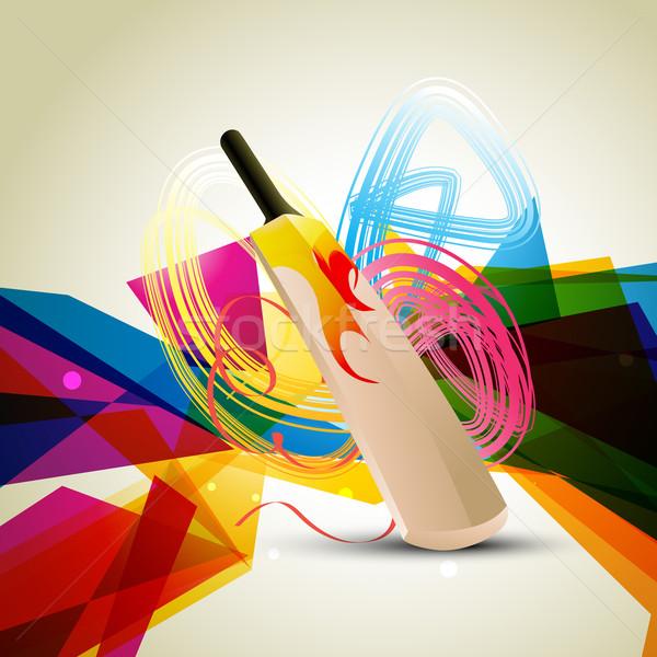 красочный крикет аннотация дизайна лет весело Сток-фото © Pinnacleanimates
