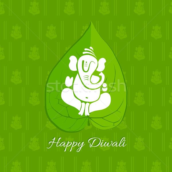 Diwali betel leaf background Stock photo © Pinnacleanimates