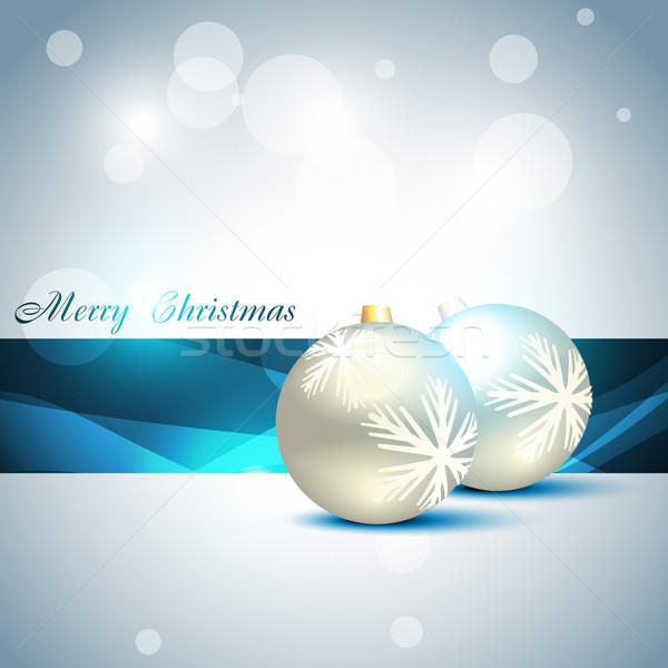 vector christmas balls Stock photo © Pinnacleanimates