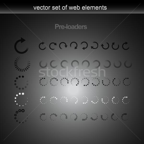 vector loader Stock photo © Pinnacleanimates