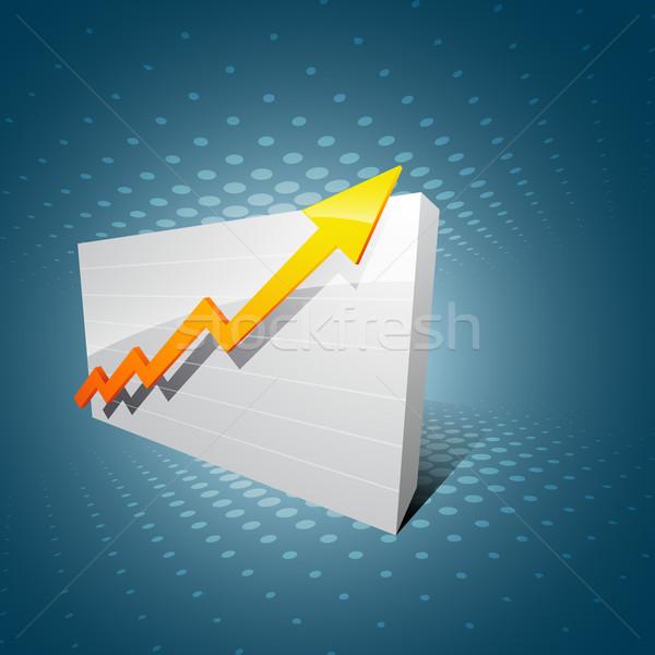 business arrow Stock photo © Pinnacleanimates