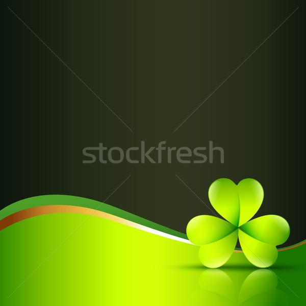 vector clover leaf Stock photo © Pinnacleanimates