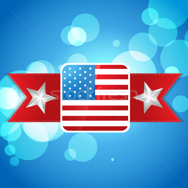 atylish american independence day design Stock photo © Pinnacleanimates