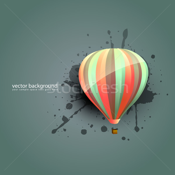 vector parachute Stock photo © Pinnacleanimates