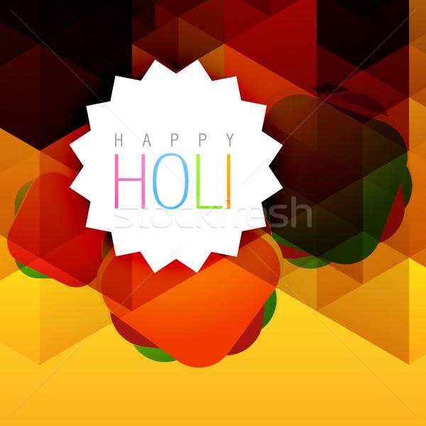 colorful holi background Stock photo © Pinnacleanimates