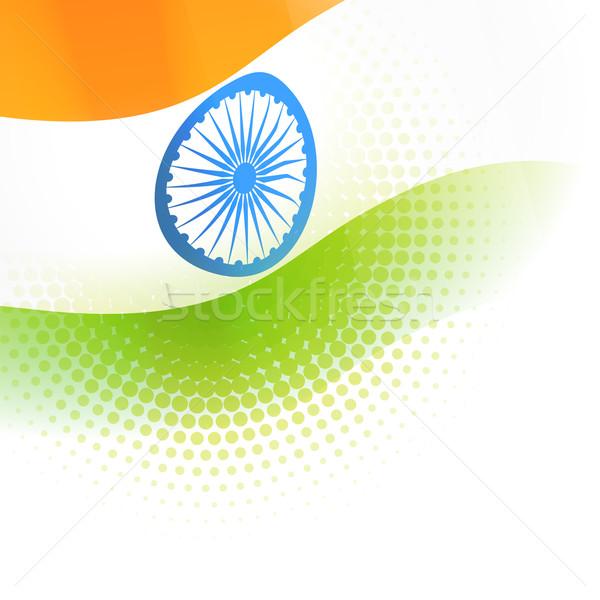 India Flag Stock photo © Pinnacleanimates