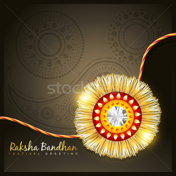 golden rakhi Stock photo © Pinnacleanimates