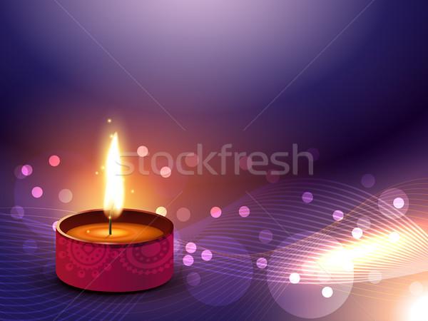 happy diwali vector Stock photo © Pinnacleanimates
