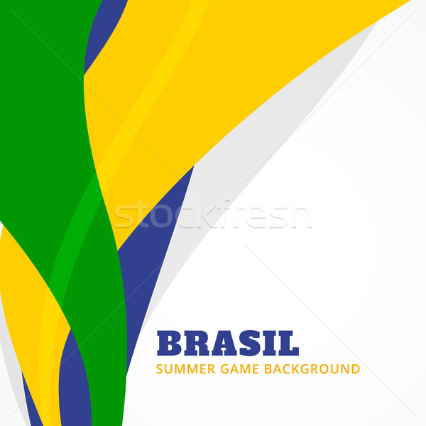 brazil summer games Stock photo © Pinnacleanimates
