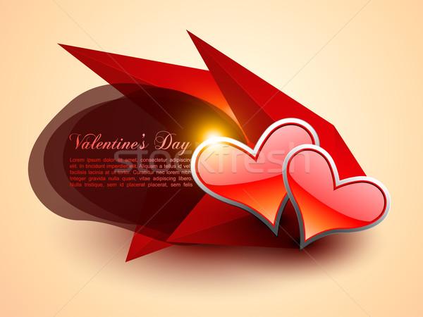 abstract heart artwork Stock photo © Pinnacleanimates