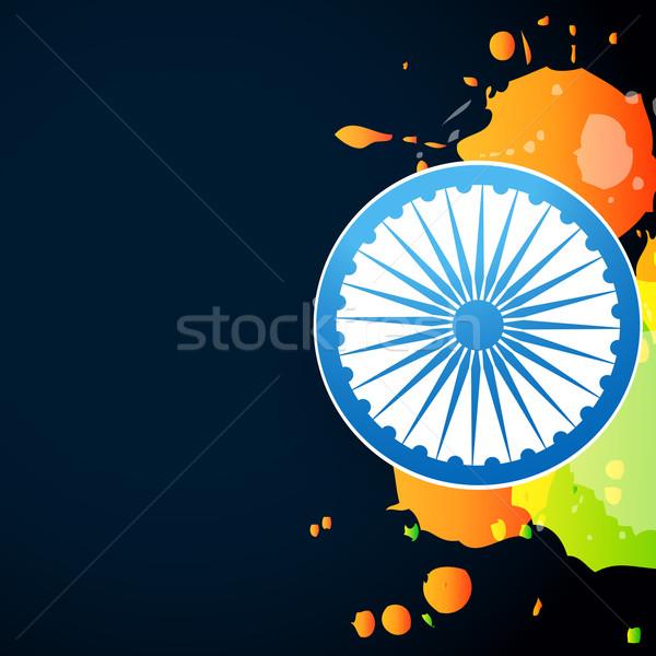 indian flag design Stock photo © Pinnacleanimates