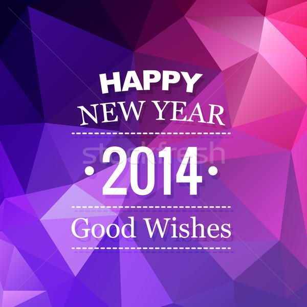 abstract new year design Stock photo © Pinnacleanimates