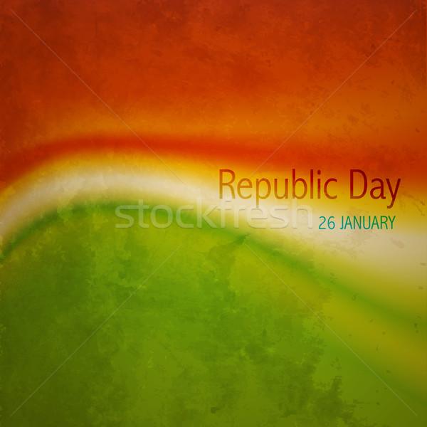 old indian flag Stock photo © Pinnacleanimates