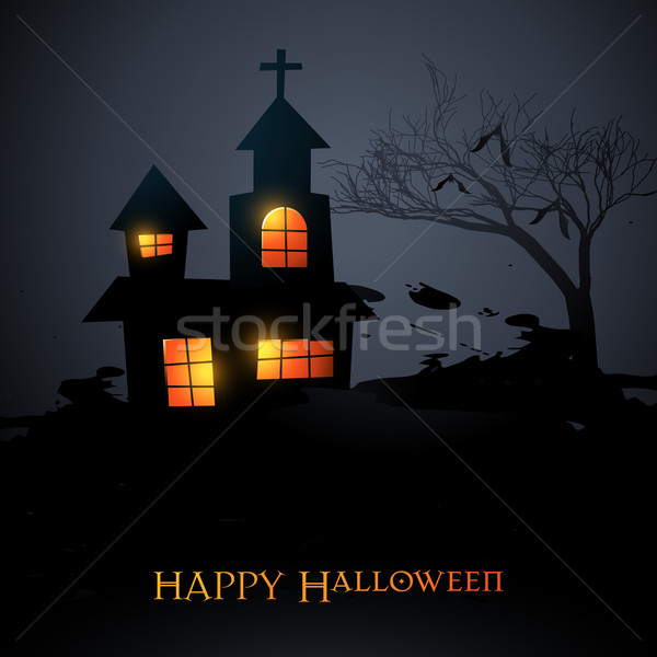 Stock photo: halloween vector
