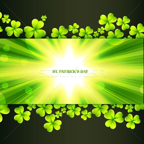 st patrick's day greeting Stock photo © Pinnacleanimates