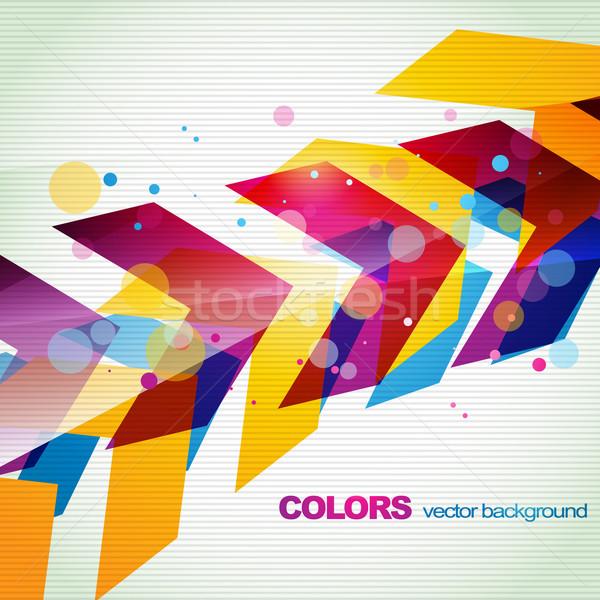 Foto stock: Colorido · eps10 · resumen · diseno · color · digital
