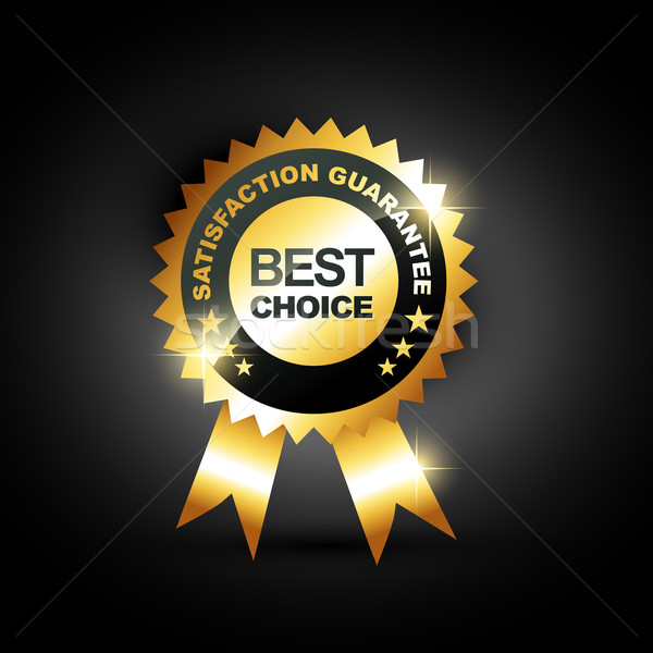 Stock photo: best choice vector