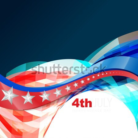 Stock photo: independence day 4th of july