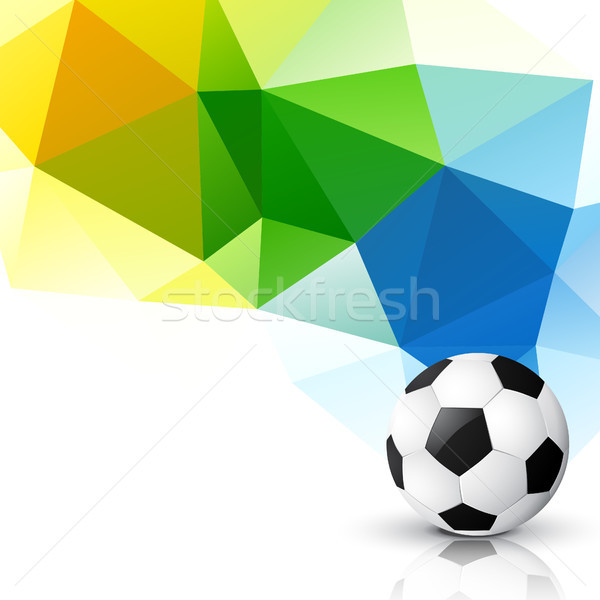Football championnat vecteur design sport vague Photo stock © Pinnacleanimates