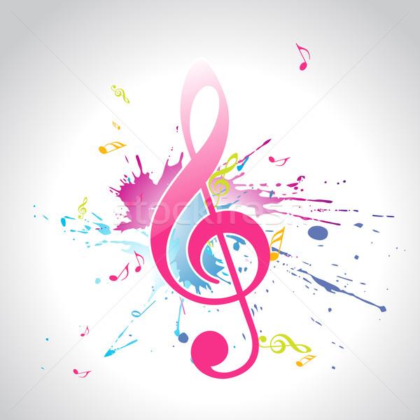 vector music design Stock photo © Pinnacleanimates