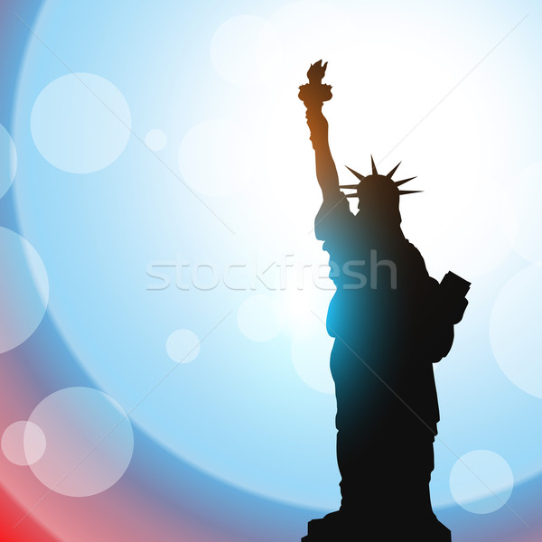 statue of liberty Stock photo © Pinnacleanimates