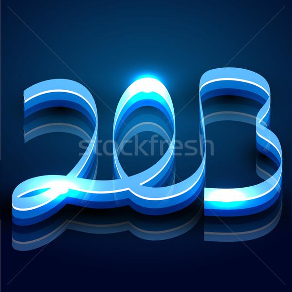 creative shiny new year Stock photo © Pinnacleanimates