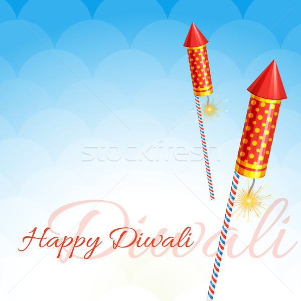 creative design of diwali Stock photo © Pinnacleanimates