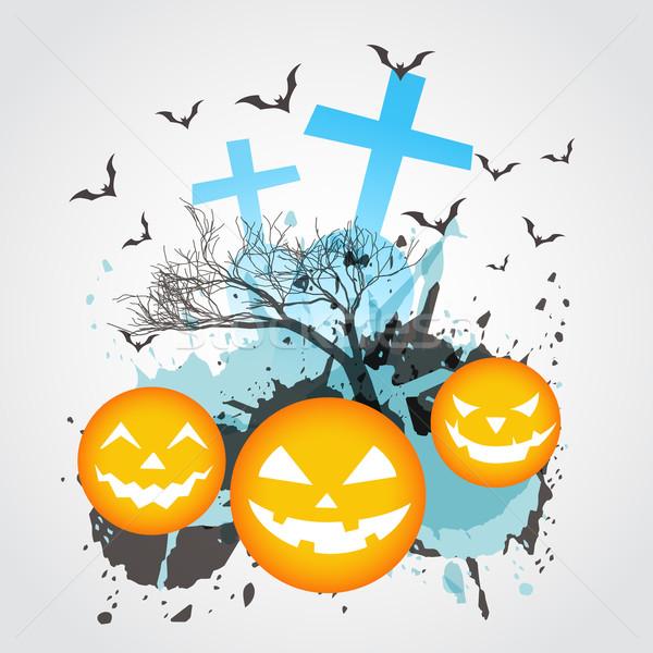 Abstrato halloween arte vetor projeto natureza Foto stock © Pinnacleanimates