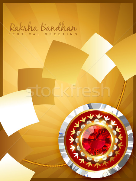 rakhi background Stock photo © Pinnacleanimates