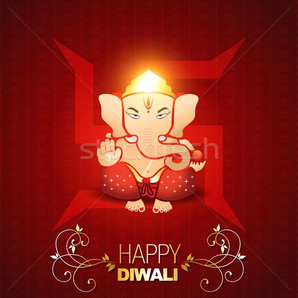 indian god ganesh Stock photo © Pinnacleanimates