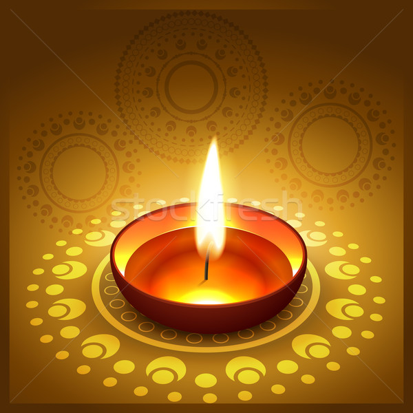 diwali festival diya Stock photo © Pinnacleanimates