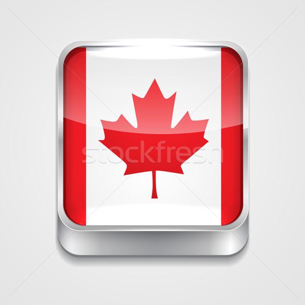 flag of canada Stock photo © Pinnacleanimates