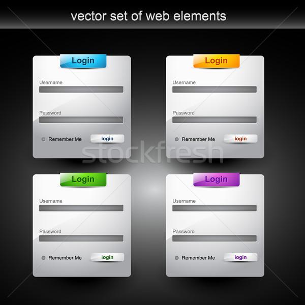 web login Stock photo © Pinnacleanimates