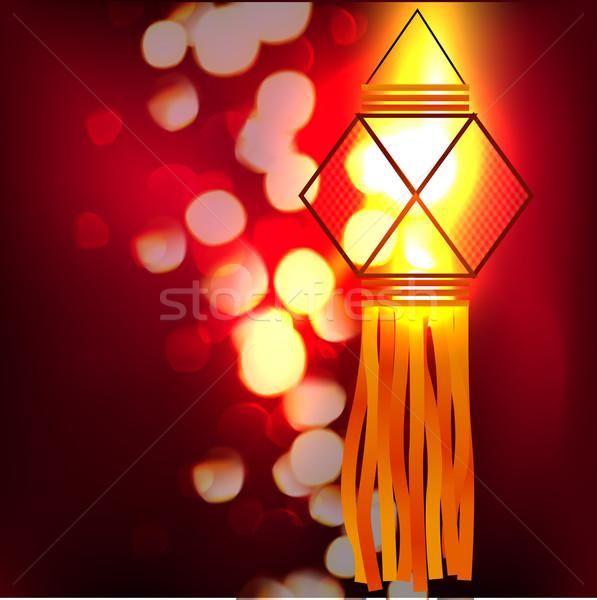 shiny lamp Stock photo © Pinnacleanimates