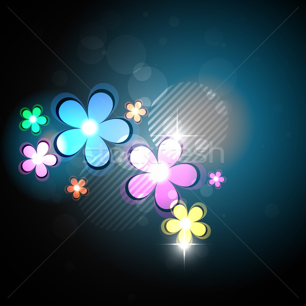 vector flower background Stock photo © Pinnacleanimates
